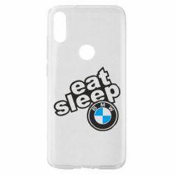 Чохол для Xiaomi Mi Play Eat, sleep, BMW