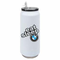 Термобанка 500ml Eat, sleep, BMW