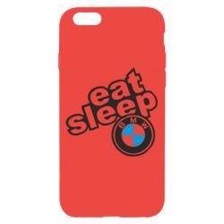 Чохол для iPhone 6/6S Eat, sleep, BMW