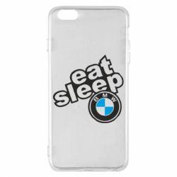 Чохол для iPhone 6 Plus/6S Plus Eat, sleep, BMW