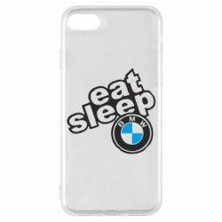 Чохол для iPhone 7 Eat, sleep, BMW
