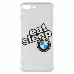 Чохол для iPhone 7 Plus Eat, sleep, BMW