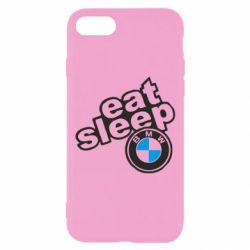 Чохол для iPhone 8 Eat, sleep, BMW