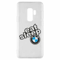 Чохол для Samsung S9+ Eat, sleep, BMW