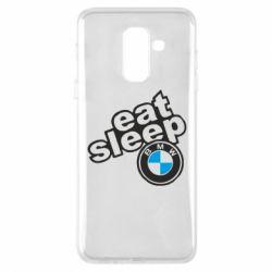 Чохол для Samsung A6+ 2018 Eat, sleep, BMW