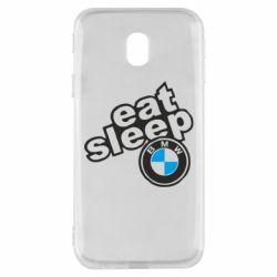 Чохол для Samsung J3 2017 Eat, sleep, BMW