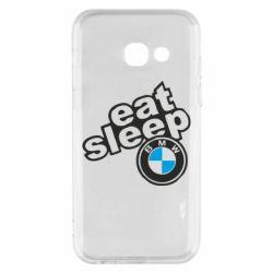 Чохол для Samsung A3 2017 Eat, sleep, BMW
