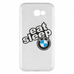 Чохол для Samsung A7 2017 Eat, sleep, BMW