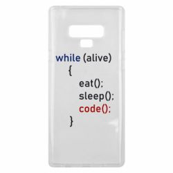 Чохол для Samsung Note 9 Eat, Sleep, Code