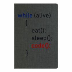 Блокнот А5 Eat, Sleep, Code