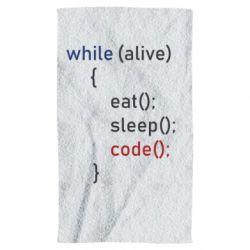 Рушник Eat, Sleep, Code