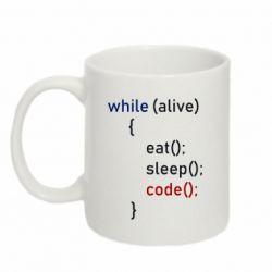 Кружка 320ml Eat, Sleep, Code