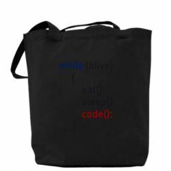 Сумка Eat, Sleep, Code