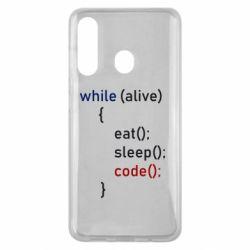 Чохол для Samsung M40 Eat, Sleep, Code