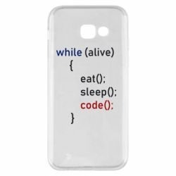 Чохол для Samsung A5 2017 Eat, Sleep, Code
