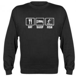 Реглан (світшот) Eat, sleep, fish