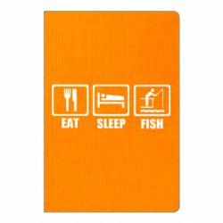 Блокнот А5 Eat, sleep, fish