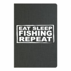Блокнот А5 Eat, sleep, fishing