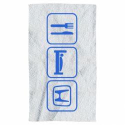 Полотенце Eat Sleep Honda - FatLine