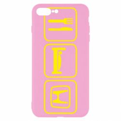 Чехол для iPhone 8 Plus Eat Sleep Honda - FatLine
