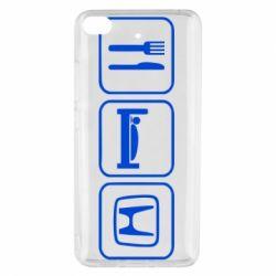 Чехол для Xiaomi Mi 5s Eat Sleep Honda - FatLine