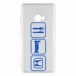 Чехол для Xiaomi Mi Note 2 Eat Sleep Honda - FatLine