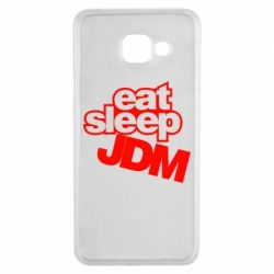 Чехол для Samsung A3 2016 Eat sleep JDM