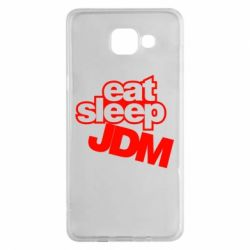 Чехол для Samsung A5 2016 Eat sleep JDM