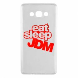 Чехол для Samsung A7 2015 Eat sleep JDM