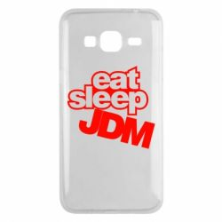 Чехол для Samsung J3 2016 Eat sleep JDM
