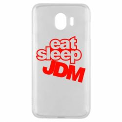 Чехол для Samsung J4 Eat sleep JDM