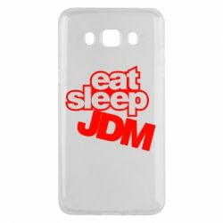 Чехол для Samsung J5 2016 Eat sleep JDM