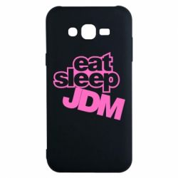 Чехол для Samsung J7 2015 Eat sleep JDM