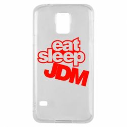 Чехол для Samsung S5 Eat sleep JDM