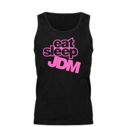 Мужская майка Eat sleep JDM - FatLine