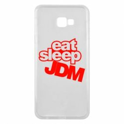 Чехол для Samsung J4 Plus 2018 Eat sleep JDM