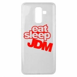 Чехол для Samsung J8 2018 Eat sleep JDM