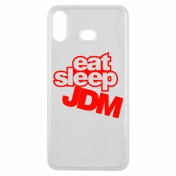 Чехол для Samsung A6s Eat sleep JDM