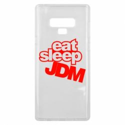 Чехол для Samsung Note 9 Eat sleep JDM