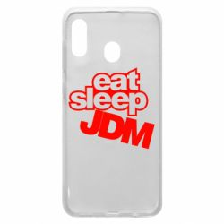 Чехол для Samsung A30 Eat sleep JDM