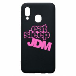 Чехол для Samsung A40 Eat sleep JDM