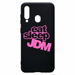 Чехол для Samsung A60 Eat sleep JDM