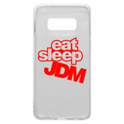 Чехол для Samsung S10e Eat sleep JDM
