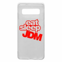Чехол для Samsung S10 Eat sleep JDM