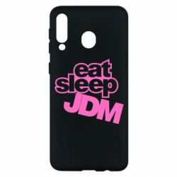 Чехол для Samsung M30 Eat sleep JDM