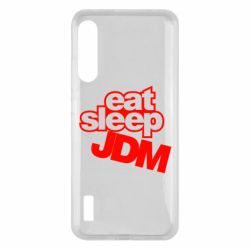 Чохол для Xiaomi Mi A3 Eat sleep JDM