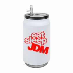 Термобанка 350ml Eat sleep JDM