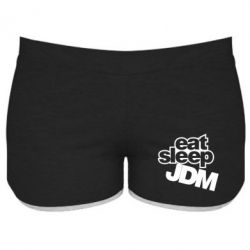 Женские шорты Eat sleep JDM - FatLine