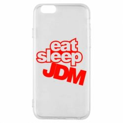 Чехол для iPhone 6/6S Eat sleep JDM