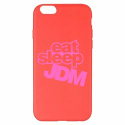 Чехол для iPhone 6 Plus/6S Plus Eat sleep JDM